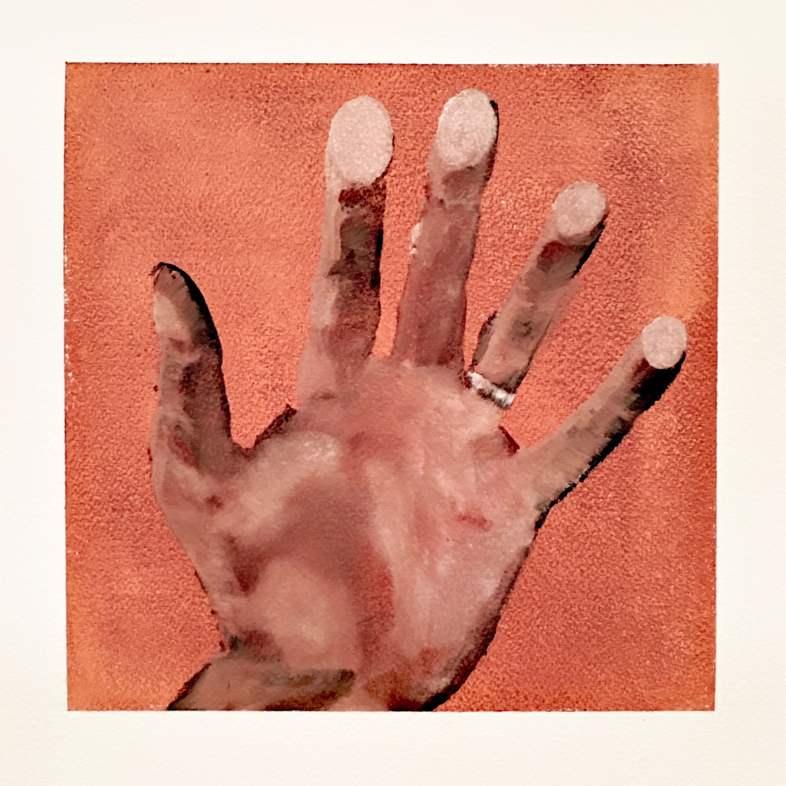 James_Buckhouse_Hand_Oil_On_Prepared_Paper_2018