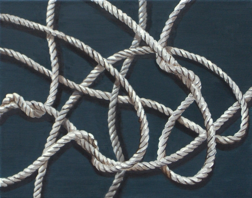 James_Buckhouse_Rope_Etude_3_Oil_On_Linen