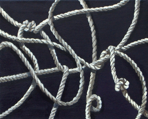 James_Buckhouse_Rope_Etude_4_Oil_On_Linen