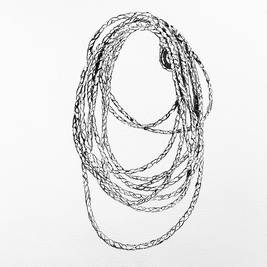 James_Buckhouse_Rope_Ink_On_Paper_2017